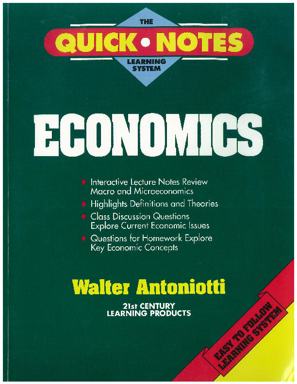 notes for economics test The best economics as and a level notes, revision guides, tips and  for your  tests and examinations with the satisfaction that you have the best resources.