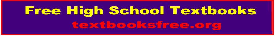 Free High School Textbooks on science, mathematics